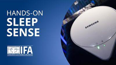 Sleep Sense: um sensor que monitora a qualidade do seu sono [Hands-on   IFA 2015