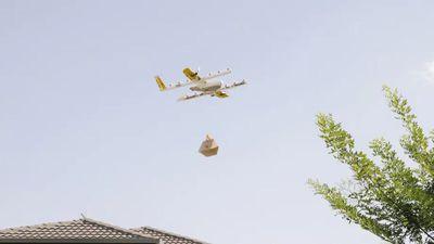 Startup da Alphabet consegue licença para realizar entregas com drones nos EUA