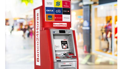 Banco24Horas agora permite usar o smartphone para liberar saques de dinheiro