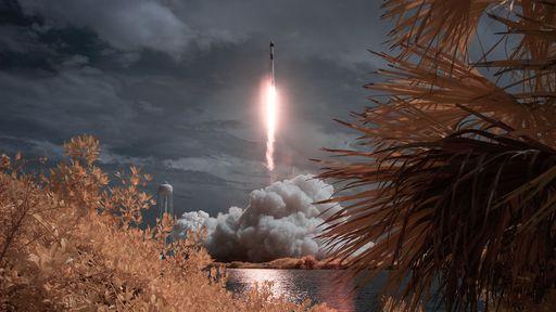 Sucesso! SpaceX lança astronautas da NASA à ISS pela primeira vez