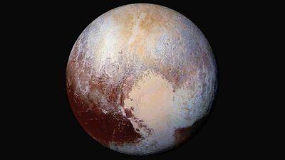 Plutão pode ter se formado a partir de um bilhão de cometas