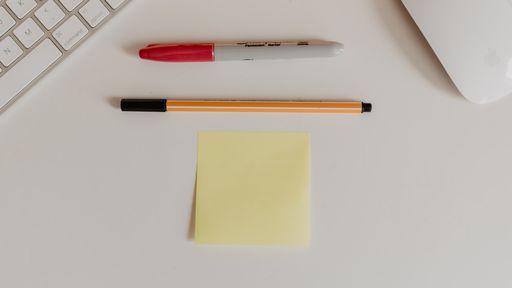 Como fazer notas de Post-it no seu celular