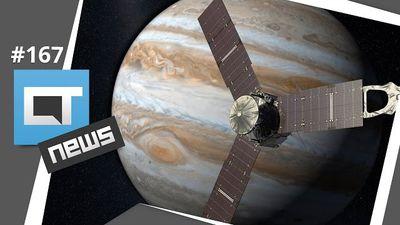 Smartphone de 4 dólares, Canaltech nas Olimpíadas, Juno em Júpiter e mais [CTNews 167]