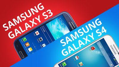 Samsung Galaxy S3 e S4 [Comparativo]