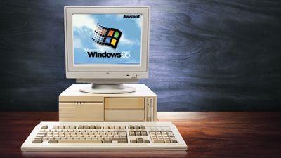 Jogo de navegador simula a experiência de trabalhar em um PC com o Windows 95