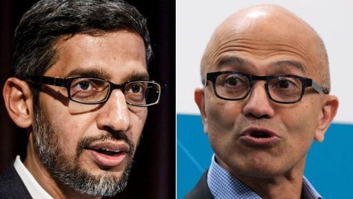 Google e Microsoft abandonam trégua de seis anos em meio a disputas pela nuvem