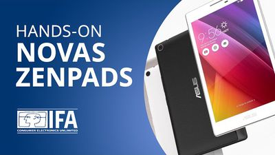 Conheça a nova família dos tablets ZenPad da ASUS [Hands-on | IFA 2015]