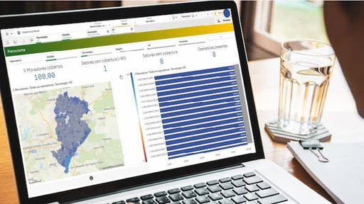 Mapa interativo da Anatel mostra sinais de telefonia e banda larga móvel no país