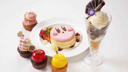 Conheça o Kirby Café, o restaurante temático da Nintendo no Japão