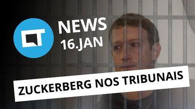 Correios Celular, Zuckerberg nos tribunais, nanossatélite brasileiro e + [CTNews