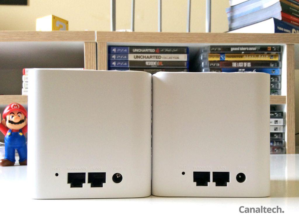 Poucas portas de rede, e nenhuma no padrão Gigabit Ethernet, são indício de que o Cosmo foi pensado mais para Wi-Fi do que para redes cabeadas
