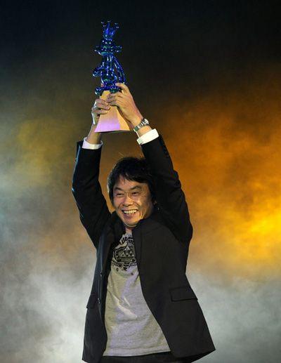 Miyamoto Criador de Mario Bros