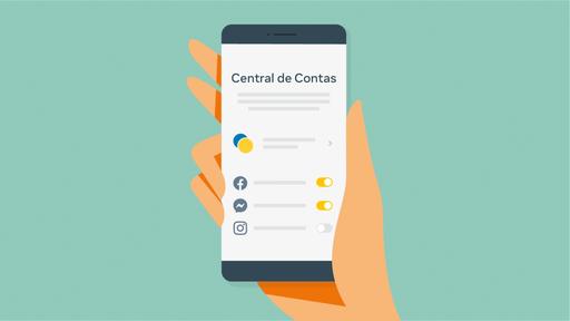 Central de contas: como sincronizar Facebook, Instagram e Messenger