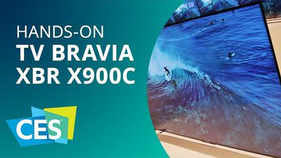 Sony Bravia XBR X900C, a TV 4K mais fina do mundo [Hands-on | CES 2015]