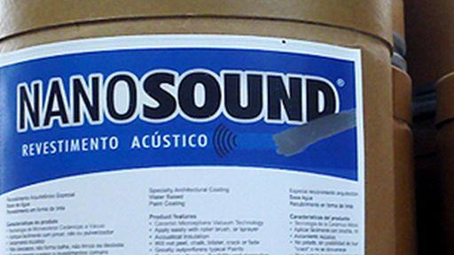 Conheça a Nanosound, a tinta que isola barulho