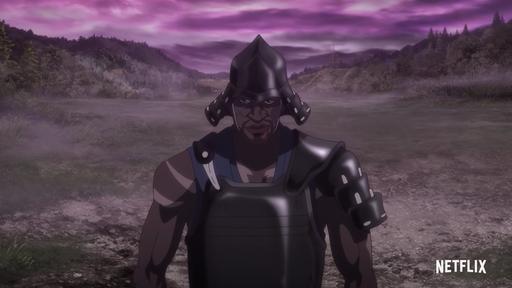 Netflix lança primeiro teaser de seu novo anime original, Yasuke