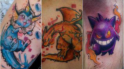Conheça Chibs, tatuadora que quer completar a Pokédex na pele dos clientes