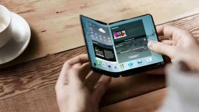 Patente da Samsung mostra smartphone que dobra duas vezes