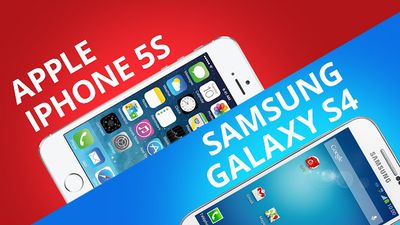 iPhone 5S VS Samsung Galaxy S4 [Comparativo]