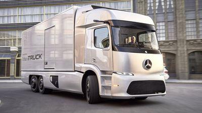 Urban eTruck, o caminhão totalmente elétrico da Mercedes-Benz