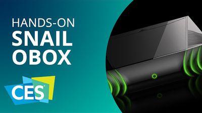 Snail OBox é o console Android para games parrudos [Hands-on | CES 2015]