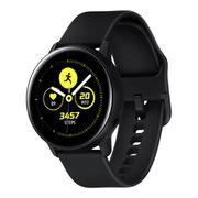 """Smartwatch Samsung Galaxy Watch Active Preto com Tela Super Amoled de 1.1"""", Bluetooth, Wi-Fi, GPS, NFC e Sensor de Frequência Cardíaca [À VISTA]"""