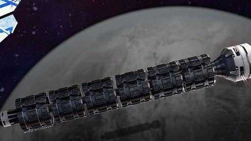 Conceito de trem espacial poderia levar o Homem a Marte em apenas dois dias
