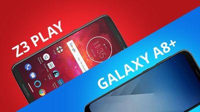 [comparativo] Moto Z3 Play vs Galaxy A8+