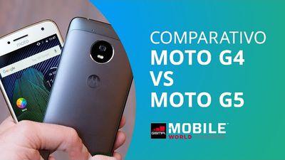 Moto G4 vs Moto G5 [Comparativo]