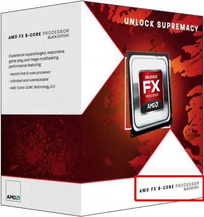 AMD Bulldozer FX-8150 Black Edition