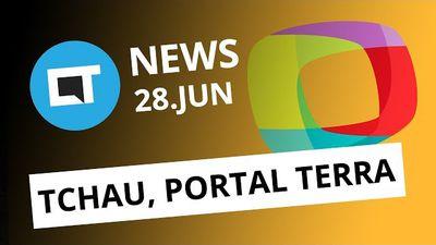 Portal Terra vai fechar as portas; Leitor de digital na tela do smartphone e+ [CT News]