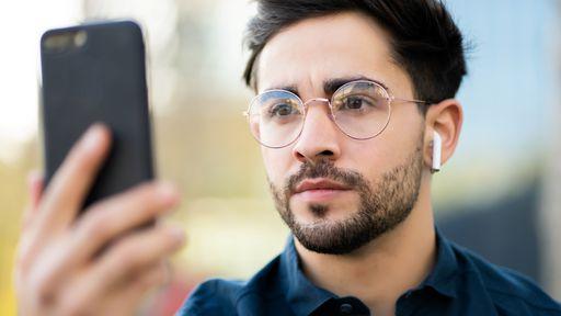 Como gerenciar os aplicativos que acessam o Face ID