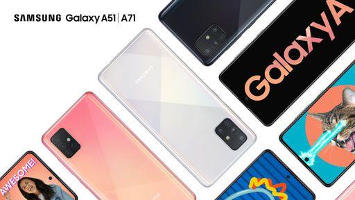 Samsung lança Galaxy A51 e A71 no Brasil; confira especificações e preços