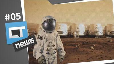 PS3 no Brasil, humanos em Marte, carro que voa, publicidade tecnológica [CT News #5]
