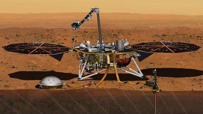 """Sonda InSight pode ter detectado o primeiro """"martemoto"""" no Planeta Vermelho"""