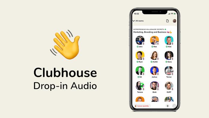 Clubhouse adiciona opção de som de alta qualidade para atrair músicos