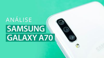 Galaxy A70, tela de CINEMA [Análise/Review]