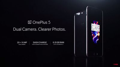 OnePlus 5 é apresentado oficialmente; confira os detalhes
