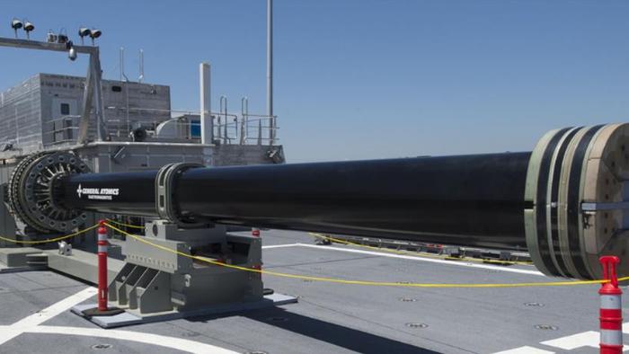 Marinha dos EUA testa superarma