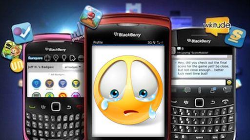 BlackBerry: cada vez mais atolada em dificuldades