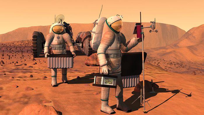 Cimento espacial pode ser a resposta para construir abrigos na Lua e em Marte