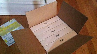 Best Buy envia 5 iPads por engano para cliente e permite que ela fique com todos