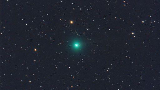 Novo cometa S3 Erasmus poderá aparecer com brilho fraco no final de novembro