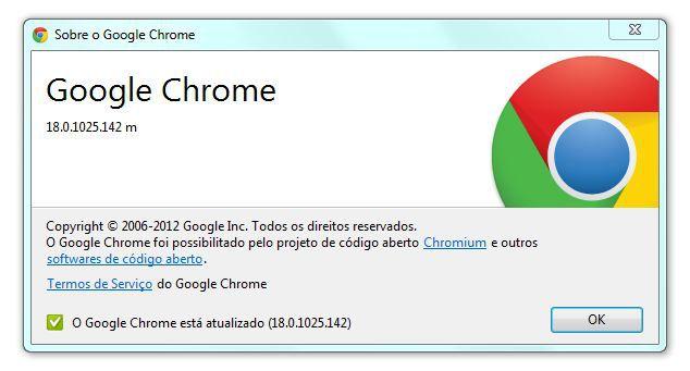 Google Chrome 18