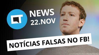 """Ex-funcionária detona Facebook; Galaxy S7 """"Jet Black"""" em dezembro e + [CT News]"""