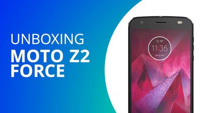 Moto Z2 Force [Unboxing]