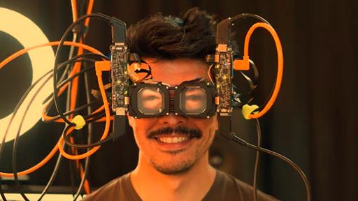 Facebook cria óculos de RV que projeta olho do usuário para enxergar arredores