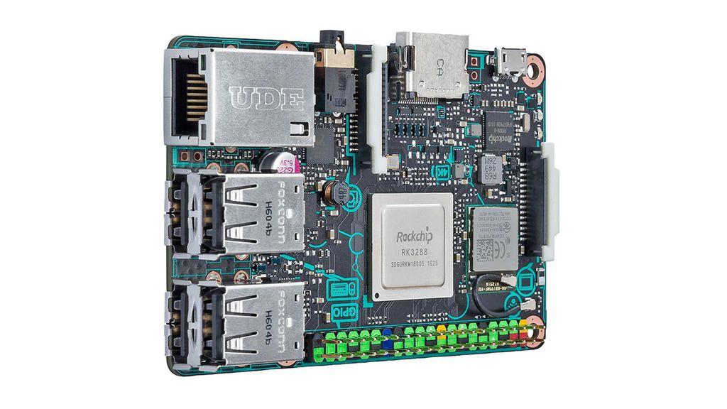 Em relação à conectividade, plaquinha taiwanesa apresenta praticamente as mesmas características da concorrente Raspberry Pi 3. Diferença é Ethernet Gigabit e conector GPIO 3.0