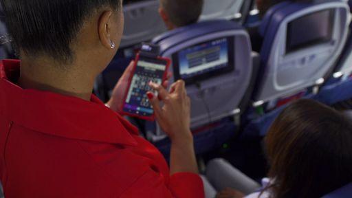 Comissários da Gol usarão tablets durante os voos da companhia