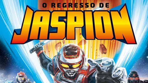 O Regresso de Jaspion se torna um dos livros mais lidos do Brasil